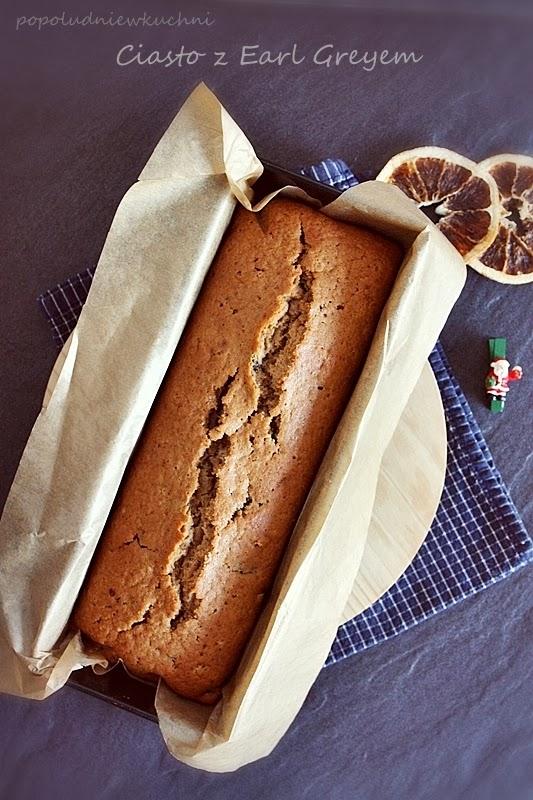 Ciasto z Earl Greyem. Wesołych Świąt!